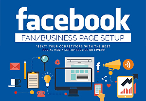 I will develop a business facebook page