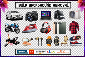 I will do any photo editing and bulk background removal