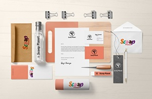 I will create complete branding package