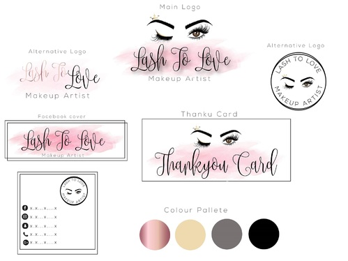 design a logo and branding kit for you