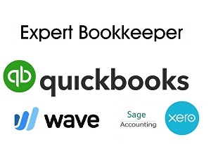 I will do bookkeeping in QuickBooks online and wave app
