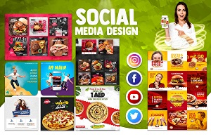 I will design instagram, facebook post social media post