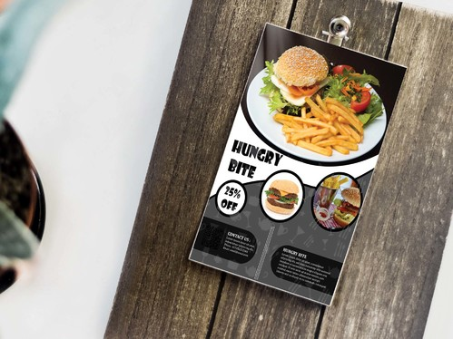design modern and professional food menu for you