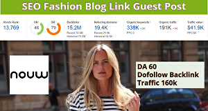 I will do a guest post on fashion blog nouw da60