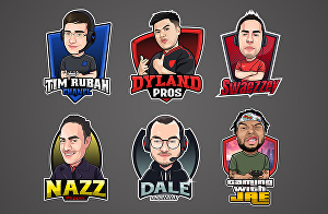 I will design awesome esport logo from your photo into avatar twitch, youtube etc