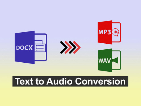 convert your text to audio