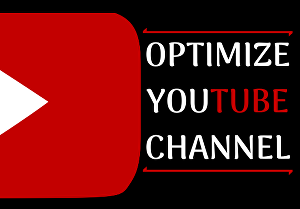 I will create, design and optimize your youtube channel