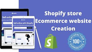 I will Create Professional Shopify Ecommerce Store