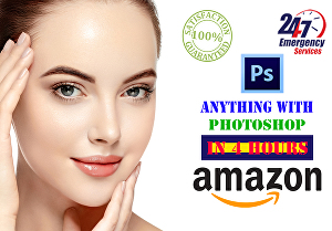 I will do amazon photo background removal, stunning image editing