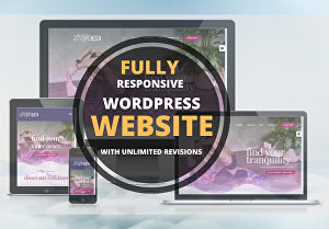 I will design and build a responsive WordPress website professionally