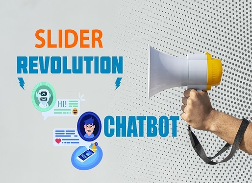 design or create outstanding slider and chatbot for your ecommerce website