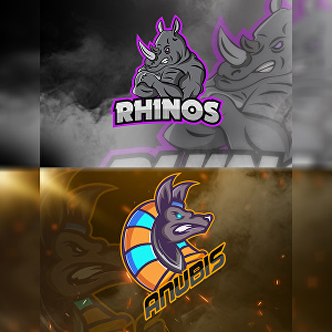 I will design awesome mascot logo for twitch, sport, sports youtube