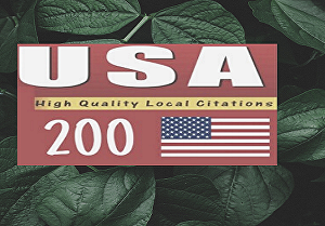 I will do top 10-200 USA local citations for business