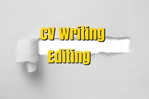 I will write  or edit a professional CV/Resume