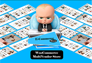 I will Build  Online Store eCommerce Website With Multi Vendor Store Professionally
