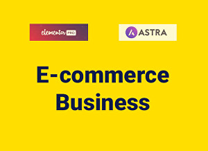 I will design,copy or customize website or landing page by elementor pro and astra pro