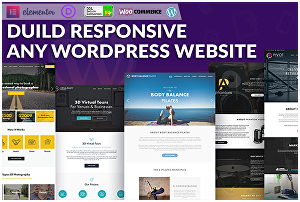 I will design a responsive divi wordpress website