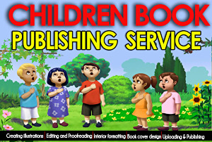 I will illustrate and publish your children book on amazon, lulu, barnes and nobles