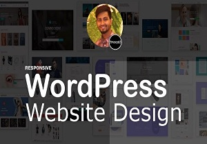I will build a responsive WordPress website design