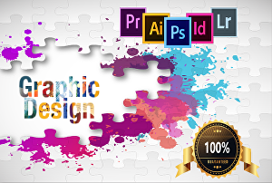 I will  be your graphic design master
