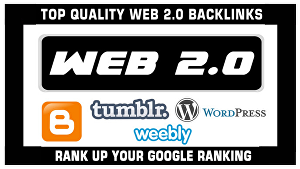 I will Create 20 Premium Web 2.0 Blog Properties With Login For Contextual Backlinks