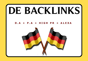 I will create 25 local German backlinks for SEO rank