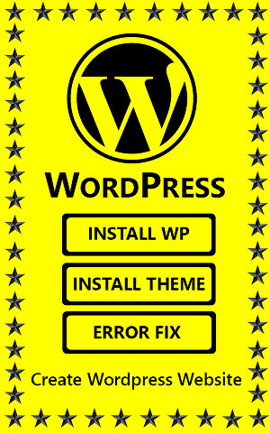 I will install wordpress, setup wordpress theme and fix wordpress issues