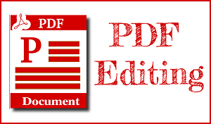 I will Edit your PDF 30 pages