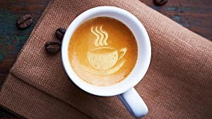 I will put your logo or text on amazing coffee letter art within 24 hours