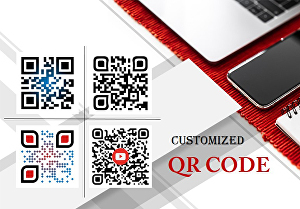 I will create colorful or customized qr code with your logo