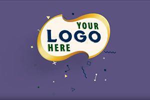 I will make 3D Minimal Flat clean Logo Reveal animation intro with your color scheme