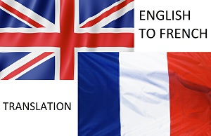 I will translate 200 words english to french