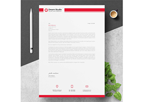 I will create stylish and professional Letterhead for your personal or business needs