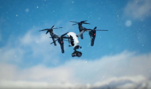 I will make Drone Aerial Logo Reveal opener animation intro video