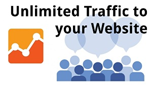 I will show you how to get unlimited traffic to your website