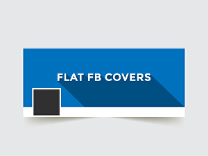 I will do Flat FB Cover Design for you