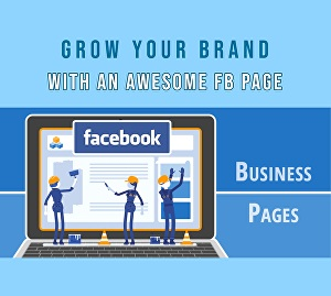 I will Design a Bespoke Facebook Page for Your Brand + FREE BENEFITS