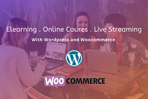 I will create Elearning website, Online course and live streaming website   using WordPress