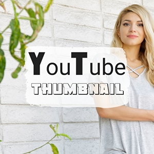 I will design a beautiful YouTube thumbnail