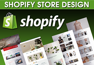 I will design shopify store shop website