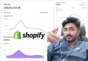 I will do digital marketing and SEO on shopify website and store