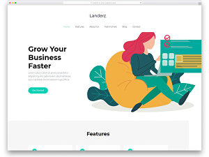 I will create a minimalist website startup package