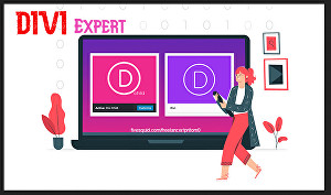 I will do eye catching wordpress website with divi theme and divi builder