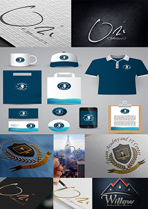 I will create up to 5 different 3D mock-up of your logo on anything
