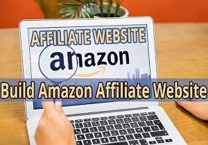 I will create amazon affiliate business website in WordPress