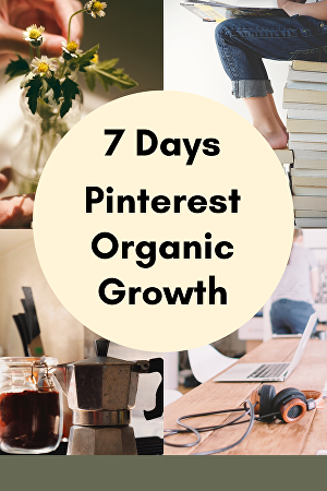 I will be your Pinterest Manager for 7 days