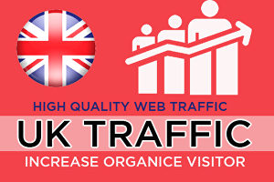 I will send 3000 Unique UK Website traffic visitors, Safe and Secure