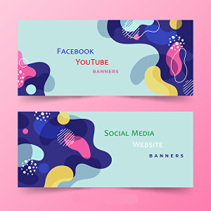 I will design Facebook covers or YouTube, Twitter, LinkedIn banners
