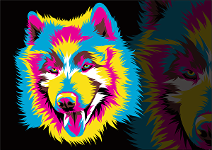 I will make colourful pop art vectors of your pet