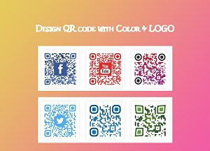 I will do stylish QR Code Designs
